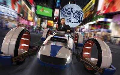 """Race Through New York Starring Jimmy Fallon"" abrirá oficialmente el 6 de abril"